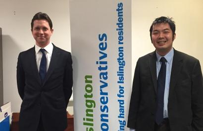 Alex Burghart and Mark Lim
